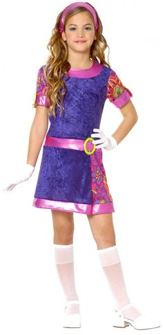 Funky Mod Sixties Kid's Costume