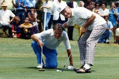 Billy Graham and Bob Hope have shared many laughs — and rounds of golf, including here at a Byron Nelson Golf Classic event on May 4, 1971. Their friendship dates back to the 1949 Los Angeles Crusade.