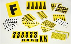 Storage Design Limited - Warehouse Environment - Labelling & Signage - Racking Labels - Self-Adhesive Vinyl Labels