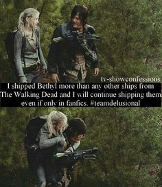 Bethyl - I will go down with this Ship!