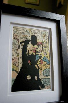 Thor Vintage Comic Silhouette