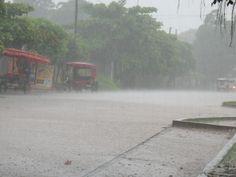 Rainy Pucallpa, Peru day.