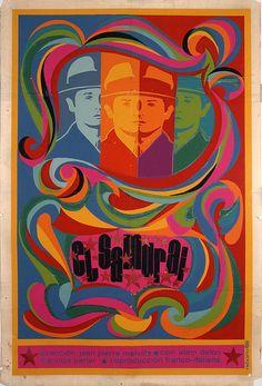 "Movie Poster for Russian film/""COLEGAS.Colleague/""Home room interior design art."