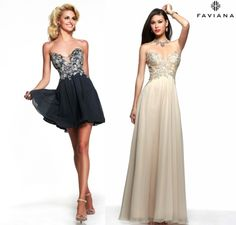 Which style excites you the most? #Faviana style S7325, or its short version S7436? Let us know! #dress #prom http://www.faviana.com/catalog/dress-s7325 http://www.faviana.com/catalog/dress-s7436