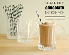 """The Chronicles of Home: A Healthy Chocolate """"Milkshake""""...Plus a Giveaway You Don't Want To Miss!"""