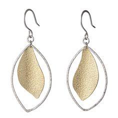 Silver Lining Earrings by Garden of Silver www.gardenofsilver.com