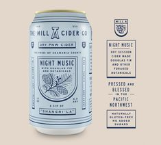 """""""New YJ work: Naming, copywriting, brand design and packaging for Mill A Cider. Cool Packaging, Vintage Packaging, Beverage Packaging, Bottle Packaging, Brand Packaging, Design Packaging, Packaging Stickers, Packaging Ideas, Beer Label Design"""
