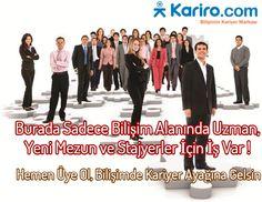 #Bilişim ve #Teknoloji alanında uzman, yeni mezun ve stajyerler için iş ilanları burada : http://kariro.com/aday/is-ara?q=  I #kariyer #işilanı #stajyer