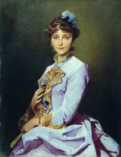 Portrait of a Lady (Ivan Makarov - 1885)