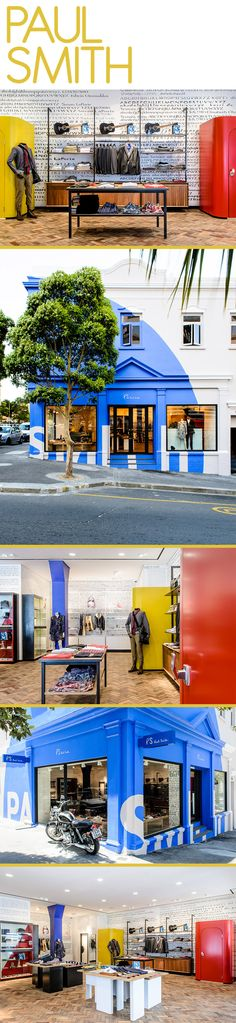 outdoor signage / color / paul-smith