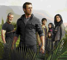 """Tera Nova. The series is initially set in 2149, a time when overpopulation and declining air quality worldwide threatens all life on Earth. After scientists discover a rift in spacetime, they begin sending people in a series of """"pilgrimages"""" 85 million years into Earth's Cretaceous past, to a different """"time stream"""". The series focuses primarily on the lives of the Shannon family as they join the Terra Nova colony in the prehistoric past"""