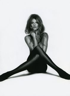 Gisele Bundchen struck Brigitte Bardot's iconic tights pose for Muse Magazine's summer 2010 issue.