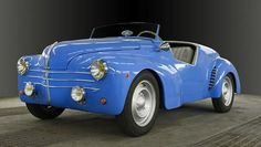 1950 Renault Barchetta Chassis no. 1464508 Engine no. Retro Cars, Vintage Cars, Europe Car, Veteran Car, Cool Old Cars, Miniature Cars, Automobile, Roadster, Cabriolet