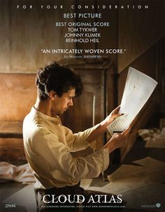 """Ben Whishaw as Robert Frobisher in the film """"Cloud Atlas"""" Tim Burton, Movie Theater, Movie Tv, Cloud Atlas 2012, Films Western, Westerns, Ben Whishaw, The Danish Girl, Interview With The Vampire"""