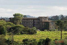 Treetops hotel in Aberdare National Park in Kenya