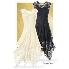 Venus Dress and Slip Set - Women's Clothing & Symbolic Jewelry – Sexy, Fantasy, Romantic Fashions