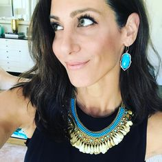 """1,128 Likes, 26 Comments - Jessica Herrin (@jessicaherrin) on Instagram: """"Got this one on repeat! Color around the face flatters- especially turquoise- which looks great on…"""""""