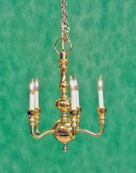 Doll House Miniature Chandelier Light Electric Mini Ceiling Lights 12V 1:12 Envy