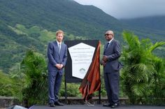 Prince Harry unveils St Kitts and Nevis' dedication to The@QueensCanopyat Central Forest Reserve National Park#RoyalVisitStKitts  - Kensington Palace