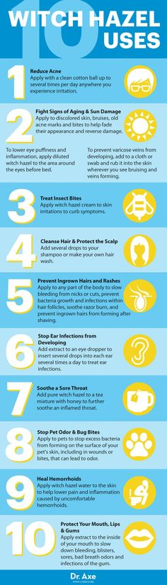 How to Use Witch Hazel to Clear Up Your Skin Fast - Dr. Axe