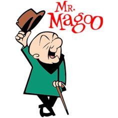 Estampa para camiseta Mr. Magoo 001094