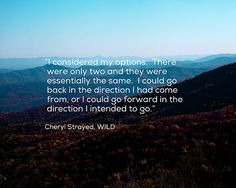 Fine Art Print, Inspirational Quote by Cheryl Strayed, WILD by Kim Fearheiley Photography $30.00