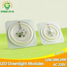 Ultra Bright Thin Led Light Source Module For Ceiling Lamp Downlight Replace Accessory Magnetic Board Bulb