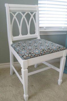 Shabby Chic Duncan Phyfe Chair
