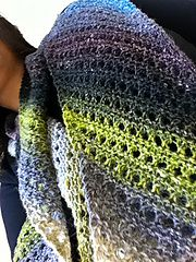Ravelry: free scarf patterns:  Noro bias lace scarf pattern by Susan Ashcroft