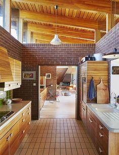A mahogany wood cabinet system