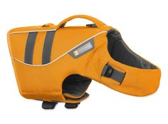 Ruffwear - K-9 Float Coat for Dogs Buoyant Secure Reflective Wave Orange (2017) Large