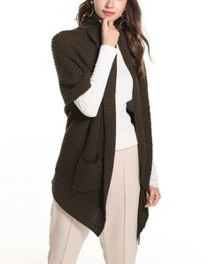 NEW DOLORES  Elegant Textured Cardigan Sweater with Short Sleeves Short  Sleeve Cardigan 24c7d8fdd