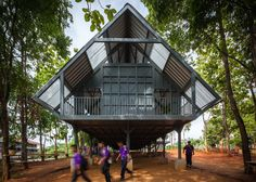 Design for Disasters - Baan Huay Sarn Yaw School designed by Vin Varavarn Architects