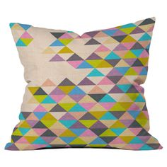 Bianca Green Completely Incomplete Throw Pillow by DENY Designs