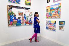 The artist Naomi Okubo (presented by GALLERY MoMo, Tokyo