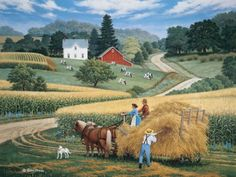 Pitching In by John Sloane
