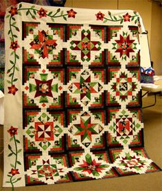 block of the month quilts Quilting Projects, Quilting Designs, Quilting Ideas, Quilt Sets, Quilt Blocks, Quilt Boarders, Charm Square Quilt, Quilting Board, Medallion Quilt