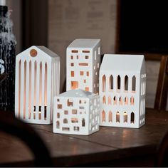 Urbania light houses by Kahler