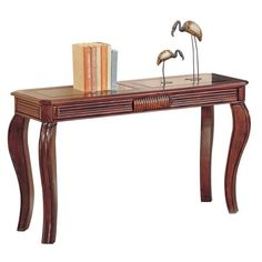 Shop a great selection of ACME Overture Sofa Table - 06153 - Cherry. Find new offer and Similar products for ACME Overture Sofa Table - 06153 - Cherry. Wooden Console Table, Wooden Sofa, Console Tables, Acme Furniture, Living Room Furniture, Kitchen Furniture, Office Furniture, Furniture Outlet, Pallet Furniture