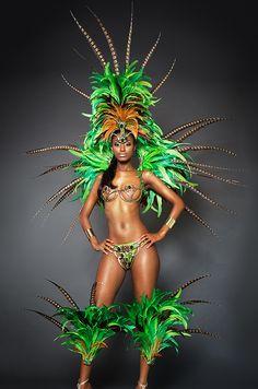 Secret Garden paparazzi Carnival Female Costume Trinidad Carnival 2015