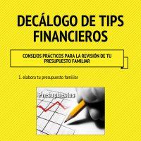Infographic: Decálogo de consejos financieros