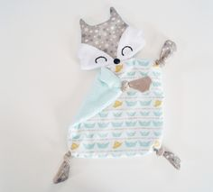 reserved – fox comforter, minky flat comforter – boat motifs: Games, stuffed toys, stuffed toys by paddle by uaniol Baby Sewing Projects, Sewing Crafts, Dou Dou, Diy Baby Gifts, Baby Couture, Bunny Crafts, Baby Sensory, Doll Patterns, Sewing Patterns