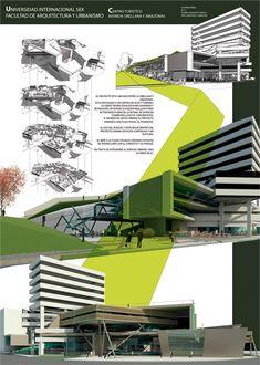 lamina de representación arquitectura - Google Search