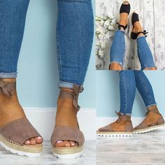 Summer Women Shoes Sandals Flip-Flop Bandage Flat Fashion Style Hot Plus Size
