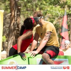 In a Summer Camp color war, the campers lay the smackdown on the Spin the Bottle challenge. Which camper would you like to make out with?