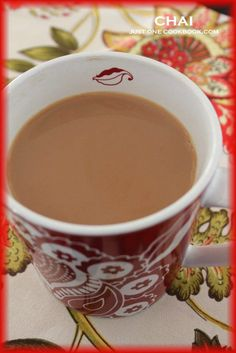 Chai (Indian tea) recipe | JustOneCookbook.com