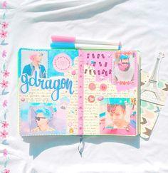 follow me on instagram @jongdose #kpopjournal #gdragon #gd #bigbang #kpop #journaling #bigbangjournal
