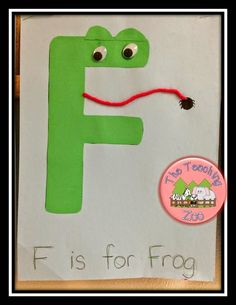 The Teaching Zoo: F is for Fire Safety Letter F Craft, Alphabet Letter Crafts, Abc Crafts, Frog Crafts, Preschool Letters, Alphabet Book, Learning The Alphabet, Preschool Crafts, Preschool Ideas
