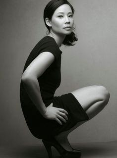 Lucy Liu - the inspiration behind new Intrepid agent Elizabeth Reigns Photo by Annie Leibovitz http://intrepidallen.com/