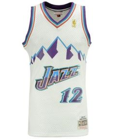 Mitchell   Ness Men John Stockton Utah Jazz Hardwood Classic Swingman Jersey 10812abfa